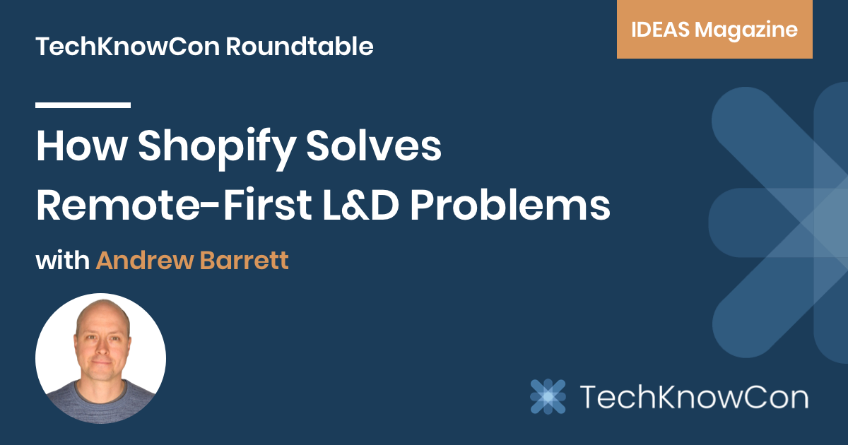 How Shopify Solves Remote-First L&D Problems