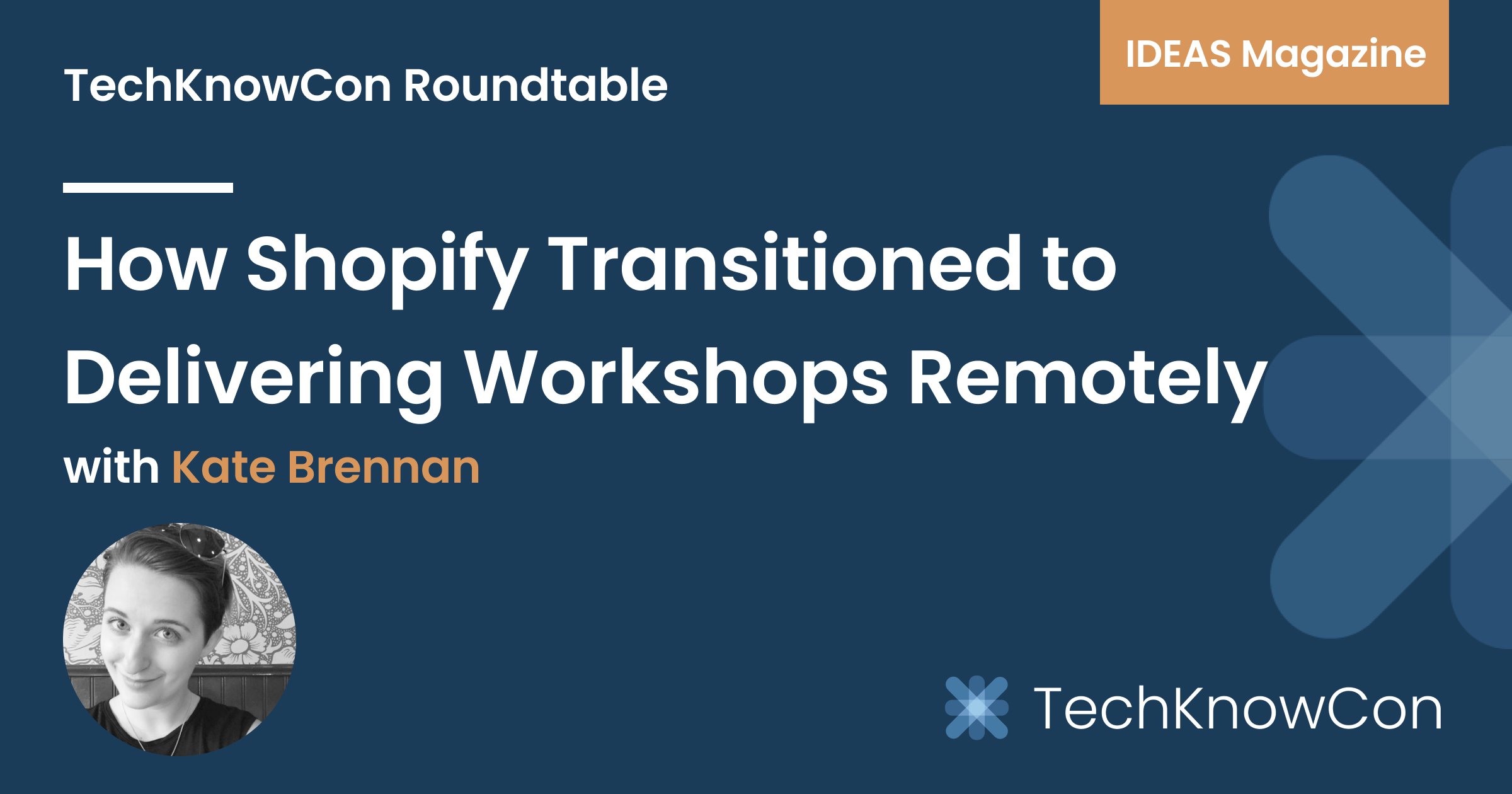 How Shopify Transitioned to Delivering Workshops Remotely